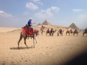 Camel Ride by the Great Pyramids of Giza
