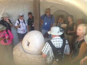 Millstone in an Olive Press at Maresha